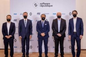 Mobilité : Atos, Dassault Systèmes, Groupe Renault, STMicroelectronics et Thales lancent la Software République.
