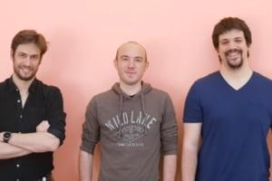 Albert Reynaud, Valerio Volpati et Nicolas Cosme, fondateurs de la start-up Semana.