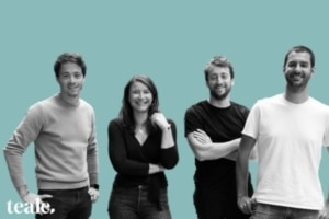 Geoffroy Verzat, Nicolas Merlaud, Julia Néel Biz et Gilles Rasigade ont fondé Teale en janvier 2021.