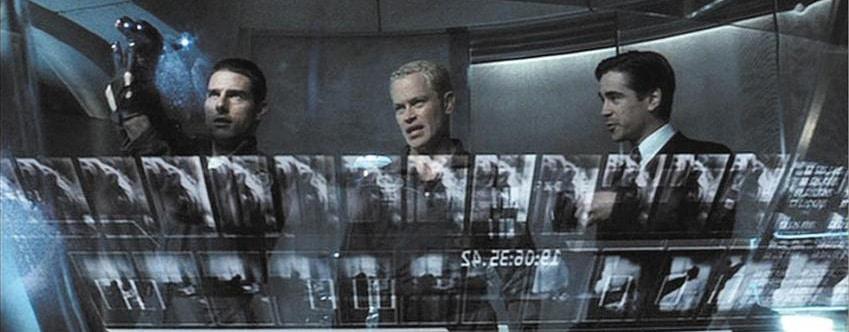 """Dans l'adaptation cinématographique de la nouvelle de Philip K. Dick Minority Report, le spectateur est embarqué en 2054 dans une dystopie où des êtres humains mutants appelés """"precogs"""" ont la faculté de prédire les crimes avant qu'ils ne surviennent. / Crédits : Minority Report (2002, 20th Century FOX)."""