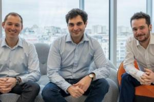 Éric Sibony, David Durrleman et Jérémy Jawish, les fondateurs de Shift Technology.