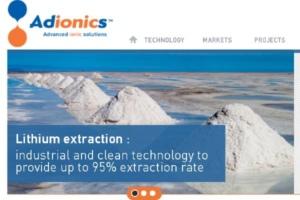 Adionics lève 7 millions d'euros pour réduire l'impact environnemental de l'extraction du lithium