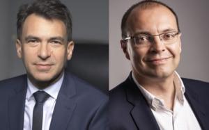 Nicolas Sekkaki de CMA CGM et Olivier Savornin de VMware
