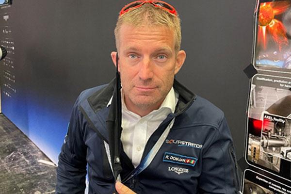 Raphaël Domjan, fondateur et pilote de solarstratus