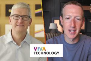Tim Cook a été invité à participer virtuellement à Vivatech le 16 juin et Mark Zuckerberg le 17.