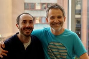 Stéphane Waller & Sylvain Lapendry, cofondateurs de Bleexo.