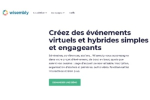 Wisembly, solution événementielle interactive, lève deux millions d'euros