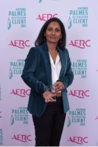 2e Lauréat Palme Directeur Client - Vanina POIRIER Directrice Service Clients de O2 Care Services