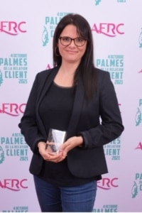 2e Lauréat Palme Engagement - Sandra Haroutounian, Directeur CX Lab & Customer Expérience chez SAGE