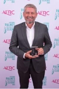 2e Laureat Palme Transformation par l'Experience Client – Guillaume HUSER, Président chez HOMESERVE
