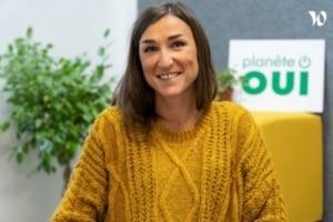 Camille Darde, DRH du fournisseur d'énergie Planète Oui