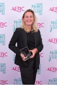 Lauréat Palme Engagement - Karine OLIVIER, Directrice Générale du pôle Services aux Particuliers, membre du COMEX de Nexity