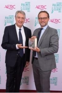 Frédéric THEBAULT, directeur Service Clients Particuliers chez EDF et Eric DADIAN, président de l'AFRC