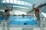 Au Val d'Europe, en Seine-et-Marne, l'usine numérique de Natixis permet de chauffer le nouveau centre aquatique et une pépinière d'entreprises.
