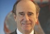 """Hervé Le Bouc, PDG de Colas « Nous comptons avoir la maîtrise de notre <span class=""""texte-bleu"""">ubérisation</span> »"""