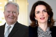 De gauche à droite : Joseph Smallhoover, associé, et Sarah Delon-Bouquet, Counsel, cabinet Bryan Cave.
