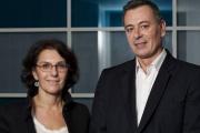 Nathalie Balla et Eric Courteille, co-président de La Redoute © La Redoute