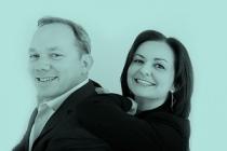 Les co-fondateurs d'Inwibe : Fiamma Ferrero, présidente et Damien Heiss, COO.