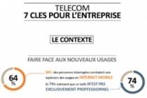 7 priorités face aux nouveaux usages télécoms