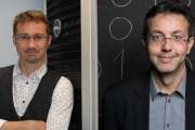 Bertrand Wallrich et Arnaud Laprévote, les fondateurs de Lybero.net