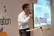 Pascal Agin, directeur de la R&D 5G de Nokia (Photo : twitter @FloDoss)