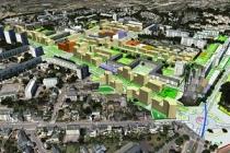 A Rennes, la ZAC Maurepas-Gayeulles présentée en 3D (DR)