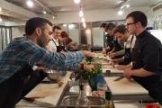 C'est la deuxième fois que Numa propose à sa promotion de start-up de rencontrer des investisseurs via un atelier cuisine.