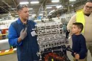 L'usine MBF Aluminium de Saint-Claude (Jura), lors d'une journée « portes ouvertes » (DR)