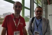 Philippe Harel (AI Practice Manager chez Umanis, à gauche) et Dritan Bejko (épistémologiste au LIH, à droite) sont revenus pendant le salon AI PAris sur le projet de l'organisme de recherche biomédical, qui sera déployé début 2019.