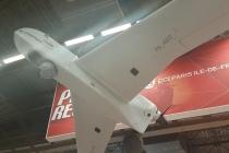 Azur Drones était présent au salon Eurosatory pour présenter ses drones aux forces de l'ordre et aux acteurs de la sécurité. ©CGM