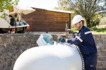 Antargaz Finagaz Leader des Gpl en France avec 800 000 tonnes distribuées en 2017, Antargaz Finagaz commercialise depuis plus de 80 ans du gaz en citernes et en bouteilles (butane ou propane) auprès de clients particuliers et professionnels. ©Antargaz Finagaz