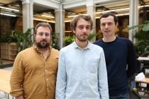 Le Wagon a été fondé en 2013 par Boris, Romain et Sébastien à Paris. ©Le Wagon