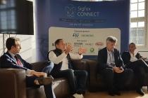 Lors du Sigfox Connect, Ludovic Le Moan, cofondateur de Sigfox, a annoncé avoir dépassé le milliard d'utilisateurs sur son réseau. ©CGM