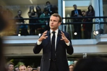 Emmanuel Macron à Station F le 10 octobre @LaFrenchTech