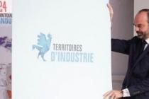 Le Premier ministre, Edouard Philippe dévoile les 124 territoires d'industrie le 22 novembre.