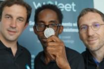 Vincent Barat, Gilles Cadignan et Clément Pansard, co-fondateurs de Woleet