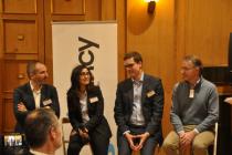 De gauche à droite : Fabrice Marsella, Lilia Coll, Olivier Flous et Jean-François Galloüin