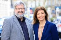 Caroline Maitrot et François Firmin, deux anciens de Studyrama, cofondateurs de Nomad Education