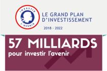 25 septembre 2017. Edouard Philippe a présenté le Grand plan d'investissement (57 milliards d'euros). Il accompagnera tout le long du quinquennat des réformes structurelles telles que la construction de l'État numérique (4,4 milliards d'euros pour la qualité et l'accessibilité des services publics et 4,9 milliards d'euros pour la numérisation du système de santé).