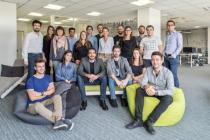 L'équipe de Dawex, start-up qui vient de lever 5 millions d'euros