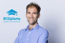 Luc Jarry-Lacombe, CEO et cofondateur de BCDiploma