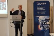 Didier Kayat, directeur général de l'avionneur et équipementier Daher