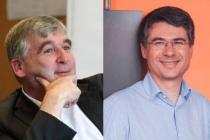 Hugues de Maussion, Directeur de l'Innovation, des projets et des systèmes d'information de Chronopost et Robert Vesoul, CEO et Co-fondateur d'ILLUIN Technology