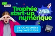 Appel à candidatures : Participez au Trophée Start-up Numérique