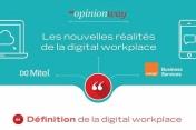 Infographie - Les DSI français, aux avant-postes de la digitalisation de l'environnement de travail