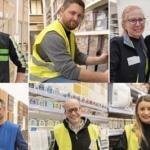 Equipe du nouveau magasin magasin Leroy Merlin de Tourcoing / Neuville-en-Ferrain.