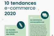 Infographie - Les 10 tendances e-commerce de 2020
