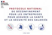 Le Gouvernement présente son protocole national de déconfinement pour les entreprises