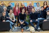 L'équipe de la start-up lyonnaise Lepermislibre.fr