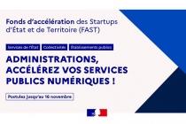 [Appel à Candidature ] 6ème édition du Fonds d'accélération des Startups d'État et de Territoire